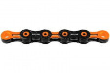 KMC DLC 11 Chain - 11-speed - black/orange